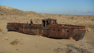 Download The Dried up Aral Sea Eco-Disaster Video