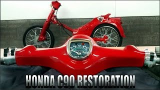 Download It's Getting Exciting Now! -Part 5 ( Honda C90 FULL RESTORATION ) Video