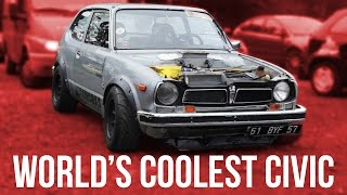 Download The World's Coolest Built-Not-Bought Honda Civic Video