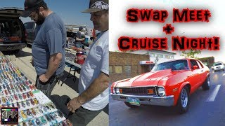 Download Automotive Swap Meet and Sunday Night Cruising | Rob's TT LS Nova gets into BOOST on the Street Video