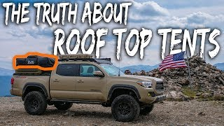 Download The TRUTH about ROOF-TOP TENT Camping - (watch before you buy, pros and cons) Tacoma Overland Video