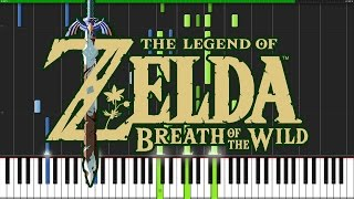 Download Trailer Theme - The Legend of Zelda: Breath of the Wild [Piano Tutorial] (Synthesia) // DS Music Video