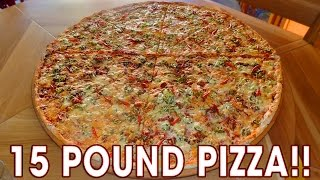 Download 15lb Extreme Hot Pizza Challenge in Czech Republic!! Video