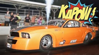 Download NITROUS Mustang BLOWS UP Motor and WINS $4,000! Video