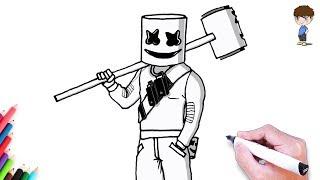 Dessin Fortnite Motard Skin Free Download Video Mp4 3gp M4a Tubeid Co - download comment dessiner marshmello fortnite facilement dessin facile a faire dessin de fortnite video