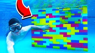 Download WORLD'S BIGGEST LEGO HOUSE UNDERWATER! Video
