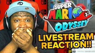Download Super Mario Odyssey - LIVE REACTION & Gameplay Trailer! Video