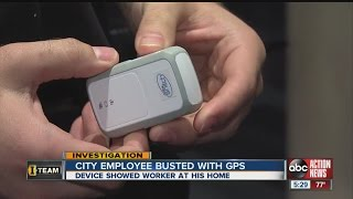 Download I-Team: GPS shows worker spent work time at home Video