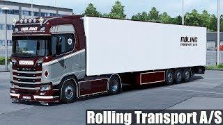 Download ✅ [ETS2 1.31] Next Gen Scania Rolling Transport A/S Video