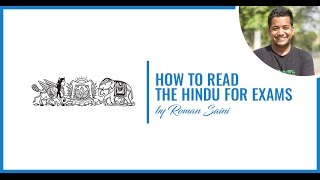 Download How To Read The Hindu for Competitive Exams By Roman Saini Video