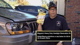 Download Meguiars Heavy Duty Headlight Restoration Kit Video
