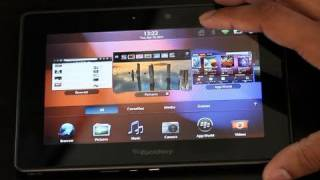 Download Blackberry Playbook: OS Tour Video