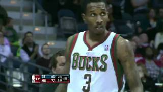 Download Brandon Jennings breaks Curry's ankles (Nov. 13, 2010) Video