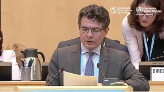 Download El ministro de Salud de Colombia, Alejandro Gaviria, en la 70ª Asamblea Mundial de la Salud Video