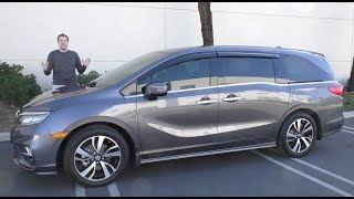 Download Here's a Tour of a $50,000 Honda Odyssey Minivan Video