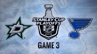 Download Steen, Backes lead Blues to 6-1 win in Game 3 Video