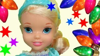 Download NEW YEAR's PARTY! ELSA, ANNA toddlers & lots of guests celebrate! Dancing, playing, eating, fun! Video