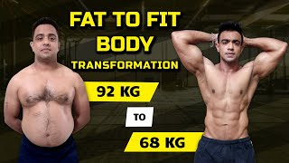 Download Workout motivation -Robin's Body Transformation - Fuerza Bangalore Video