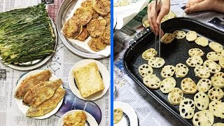 Download Making Jeon: Korean Pancakes ♦ How I Spent Chuseok with My Family in Korea Video