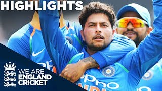 Download Kuldeep & Rohit Dominate England | England v India 1st ODI 2018 - Highlights Video
