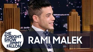 Download Rami Malek Served Doctors Lasagna off a Hospital Floor Video