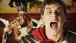 Download Shaka Zulu vs Julius Caesar. Epic Rap Battles of History Video