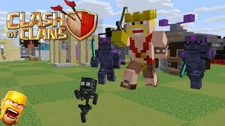 Download Monster School : Clash Of Clans Fight -Minecraft Animation Video