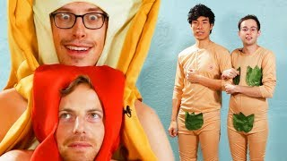 Download The Try Guys Try Cringey Couples Halloween Costumes Video