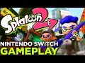 Download 6 Minutes of SPLATOON 2 Nintendo Switch Gameplay Video