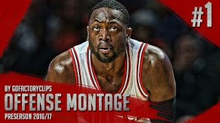 Download Dwyane Wade Offense Highlights Montage 2016/2017 (Part 1) - Chicago Bulls Debut! Video