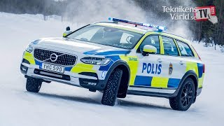 Download World Exclusive: Volvo V90 Cross Country Police Car [Swedish] Video