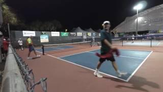 Download Mens Pro Singles Rob Elliott vs Tyson McGuffin - US Open Pickleball 2017 Video