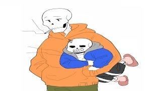 Download 언더테일 만화 더빙 | 솹팝텔샌이 실랑이하는 만화 (UNDERTALE) Video