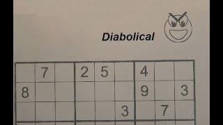 Download Solve Diabolical Sudoku Puzzles - Very Hard Video