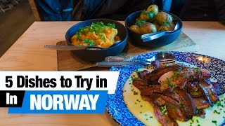 Download Norwegian Food Tour - 5 Dishes to Try in Oslo, Norway! (Americans Try Norwegian Food) Video