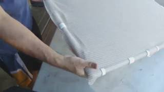 Download Making PVC Snap Clips to hold shade cloth on PVC frame Video