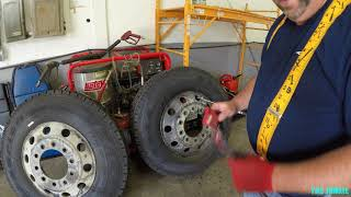 Download HOW TO CHANGE SEMI TRUCK DRIVES TIRES 🔩🛠🚛🚜👍🏽 Video