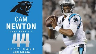 Download #44: Cam Newton (QB, Panthers) | Top 100 Players of 2017 | NFL Video