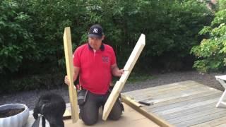 Download Bygga Plankbord med kryssben Video