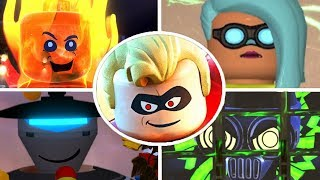 Download LEGO The Incredibles - All Bosses Video