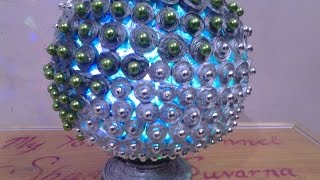 Download Best Out Of Waste Paper Classy Centre Piece Lamp Video