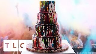Download A Colorful Cake for the 5th Anniversary of The Color Run | Cake Boss, Season 9 Video