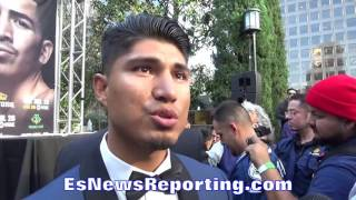 Download MIKEY GARCIA FEELS 2 YEAR LAY OFF SAVED HIM FROM EARLY RETIREMENT - EsNews Boxing Video