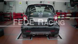Download Sport Exhaust for Smart 453 Brabus & Fortwo - Fede Racing Video