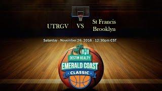 Download Emerald Coast Classic 2016 - UTRGV vs St Francis Brooklyn Video