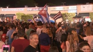 Download Fidel Castro's death sparks celebrations in Little Havana's streets Video