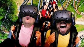 Download Roller Coaster (Hızlı Tren) Bindik - Sanal Gerçeklik Video