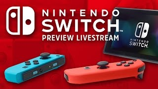 Download Nintendo Switch Livestream - Console, OS, and Early Zelda Impressions Video