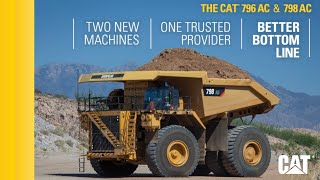Download Cat 798 AC and 796 AC: Two more productive options from the leader in mining trucks Video