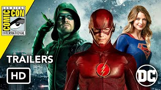 Download All DCTV Comic-Con 2019 Trailers (HD) Flash, Arrow, Supergirl, Harley Quinn, Batwoman Video
